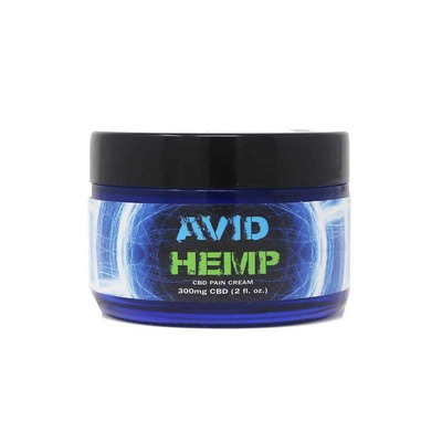 Avid Hemp 300mg High-End CBD Pain & Wellness Formula is a soothing, rich, luxurious lotion designed to be penetrating and readily absorbed.