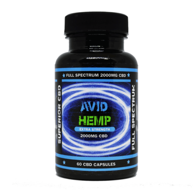 CBD capsules provide fast relief from pain, discomfort, and anxiety.