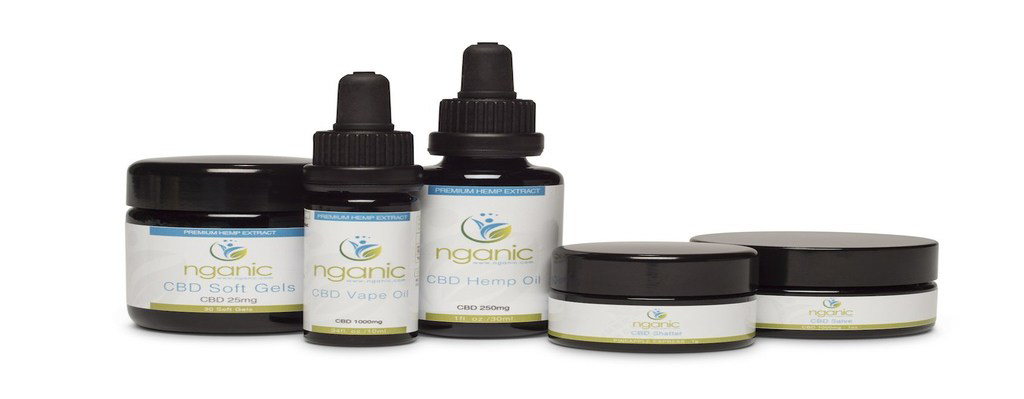 Nganic | CBD Products Banner