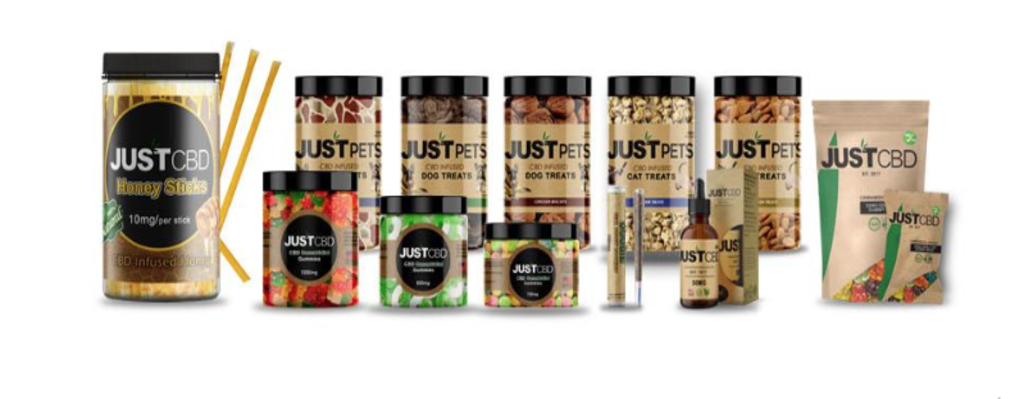 JustCBD | CBD Products Banner