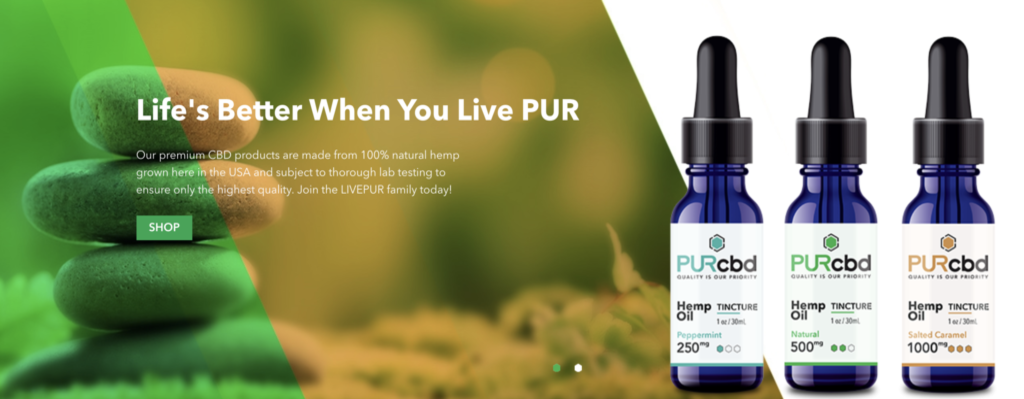PurCBD | CBD Products Banner