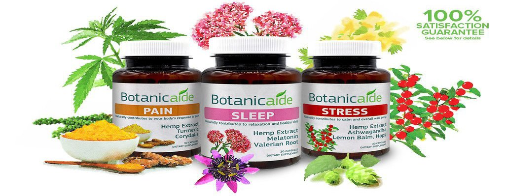 Botanicaide | CBD Products Banner
