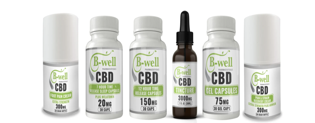 B-Well | CBD Products Banner