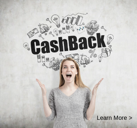 Cashback Learn More