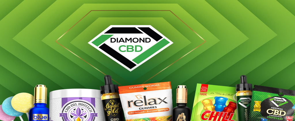 Diamond CBD Products Banner